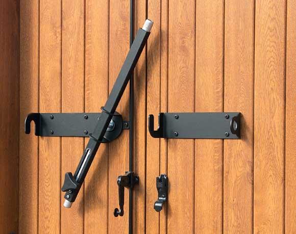 Costruzione sbarre di sicurezza sbarre bloccaggio porte e - Spranga per porta ...